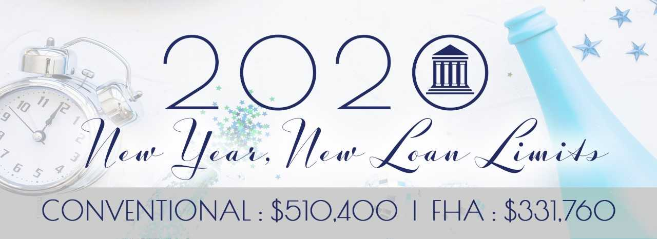 new year new loan limits fha conventional