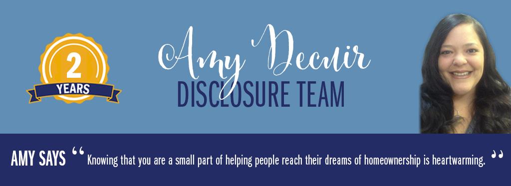 GMFS CD Specialist - Amy Decuir